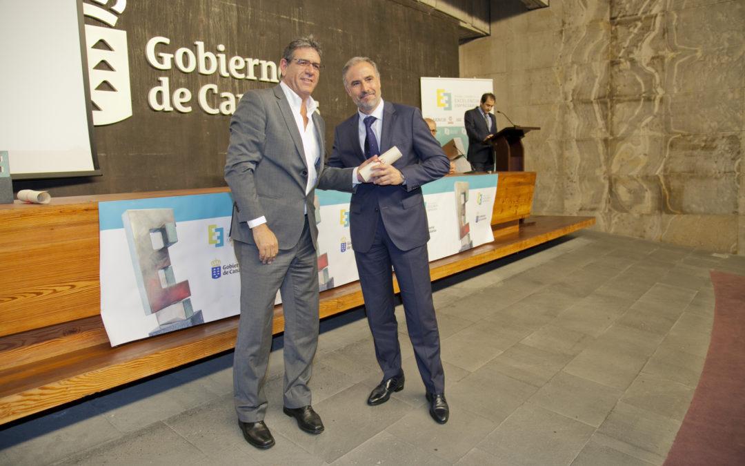 MARTÍNEZ CANO es galardonada en los premios canarios a la excelencia empresarial